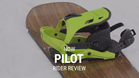 NOW Pilot 2019 Snowboard Binding Rider Review - Tactics.com - Tactics Boardshop