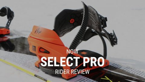 NOW Select Pro 2019 Snowboard Binding Rider Review - Tactics.com - Tactics Boardshop