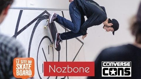 Nozbone Wallride contest paris 2014 : Mocquin, Candon, Taveira - LeSiteDuSkateboard Videos