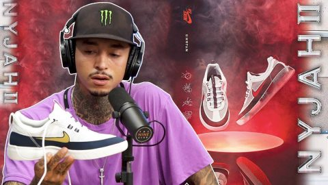 "Nyjah Breaks Down Designing & Testing His New Nike SB Shoe ""The Nyjah II"" 