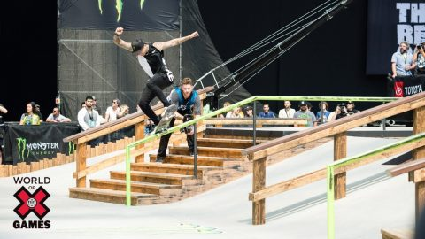 Nyjah Huston: #3 | X Games 2018 Top 10 Moments | X Games