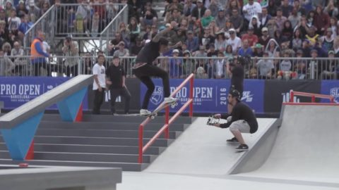 Nyjah Huston BEST OF 2016 - SLS