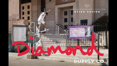 Nyjah Huston For Diamond Supply Co | Diamond Supply