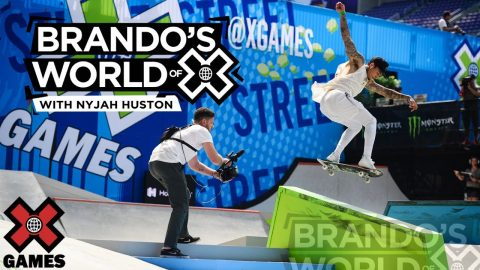 NYJAH HUSTON: I've Gotten So Much Good Footage In 2020 | X GAMES PODCAST | X Games