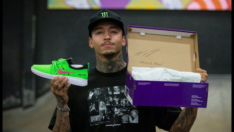 Nyjah Huston NEW Nike SB Limited Signed Pairs | The Berrics