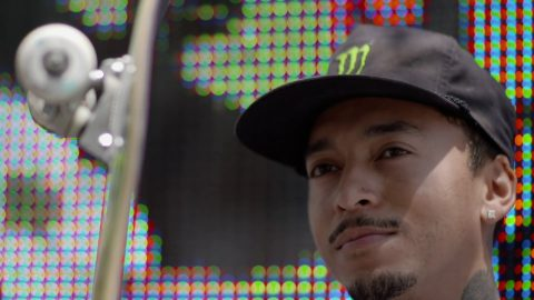 Nyjah Huston Skates Flatground on Hollywood Blvd | Ricta Wheels