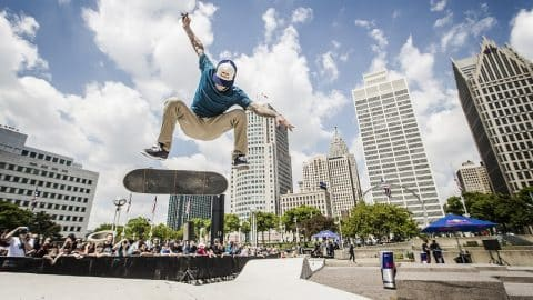 Nyjah Huston Two-Peats at Red Bull Hart Lines - Red Bull