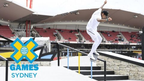 Nyjah Huston wins gold in Men's Skateboard Street  | X Games Sydney 2018 | X Games