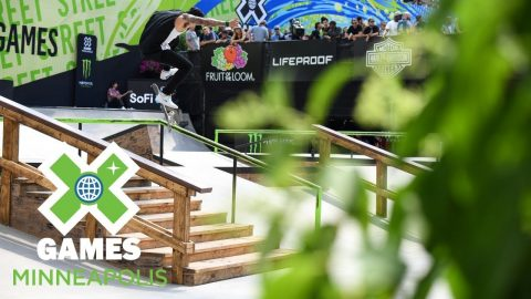 Nyjah Huston wins Men's Skateboard Street gold | X Games Minneapolis 2018 | X Games