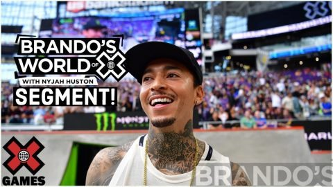 Nyjah Made The Same Uber Driver Go Back to X Games | X GAMES PODCAST | X Games