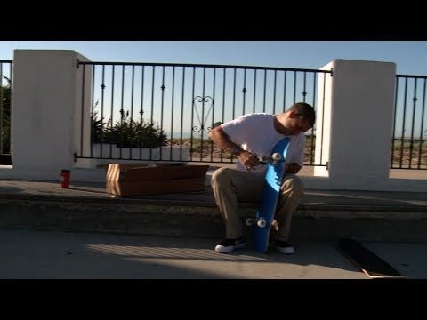 O.G. Eddie Sanders shreds the NEW NEW Chevron Decks! - Mini Logo Skateboards