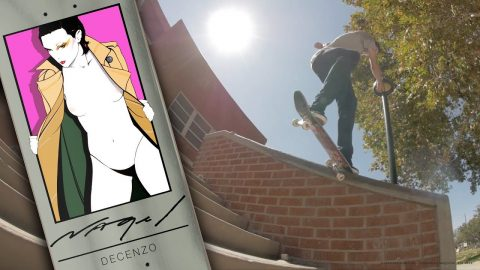 OFFICIAL DARKSTAR X NAGEL II | DECENZO | Darkstar Skateboards