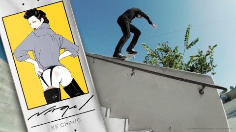 OFFICIAL DARKSTAR X NAGEL II | KE'CHAUD | Darkstar Skateboards