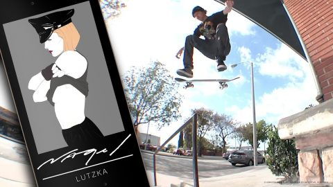 OFFICIAL DARKSTAR X NAGEL II | LUTZKA | Darkstar Skateboards
