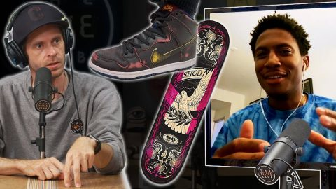 Old Board With New Shoes? Or New Board With Old Shoes? - Ishod Wair | Nine Club Highlights
