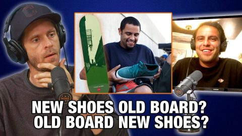 Old Board With New Shoes? Or New Board With Old Shoes? - Vincent Alvarez | Nine Club Highlights