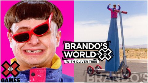 OLIVER TREE: I Have Various Swords | X GAMES PODCAST | X Games