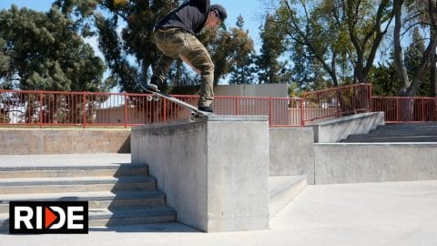Olivier Lucero Pomona Skatepark Check - RIDE Channel