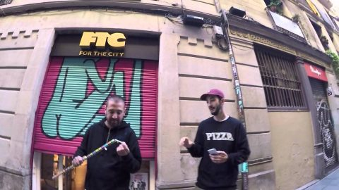 On fire - FTC Barcelona
