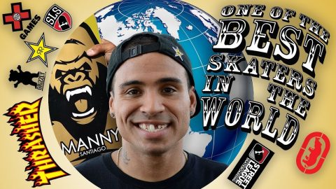 ONE OF THE BEST SKATERS IN THE WORLD - Luis Mora