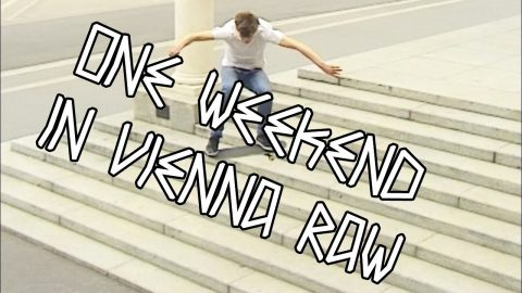 ONE WEEKEND IN VIENNA | NOSTALGIA SKATEBOARDS