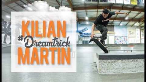 Only Kilian Martin Would Think To Do This Trick | #DreamTrick | The Berrics
