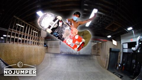 Opening An Indoor Skatepark in New York City During The Pandemic - No Jumper