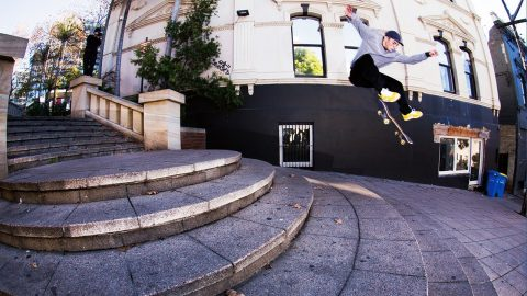 ORION STEFANIDIS | REEL RAW | Slam Skateboarding Magazine