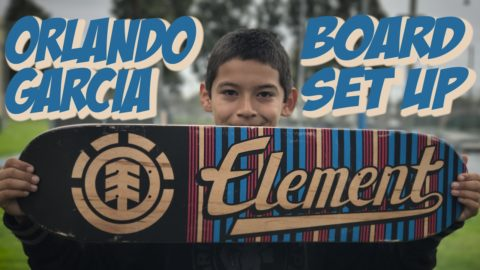 ORLANDO GARCIA BOARD SET UP AND INTERVIEW !!! - Nka Vids Skateboarding