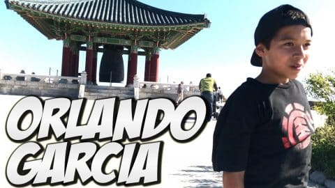 ORLANDO GARCIA & FRIENDS AWESOME DAY !!! - A DAY WITH NKA - - Nka Vids Skateboarding