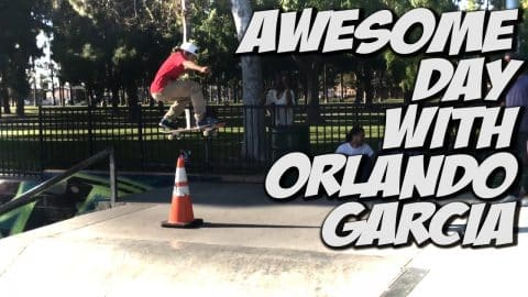 ORLANDO GARCIA V.s. NKA & MORE !!! - A DAY WITH NKA - - Nka Vids Skateboarding