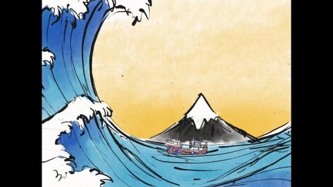 Our World, Animated: The Mountain And The Wave | Quiksilver