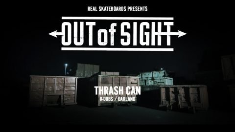 Out of Sight : Thrash Can | REAL Skateboards