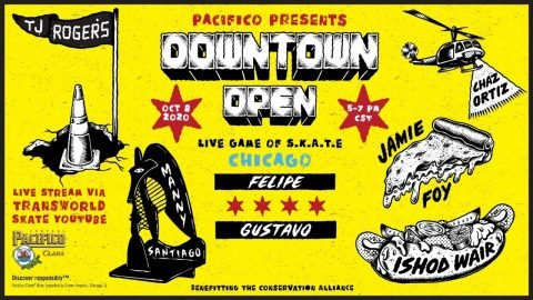 Pacifico Downtown Open Chicago Live on Oct. 8th | TransWorld SKATEboarding