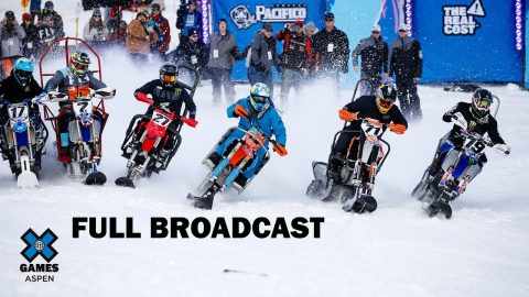 Para Snow BikeCross: FULL BROADCAST | X Games Aspen 2020 | X Games