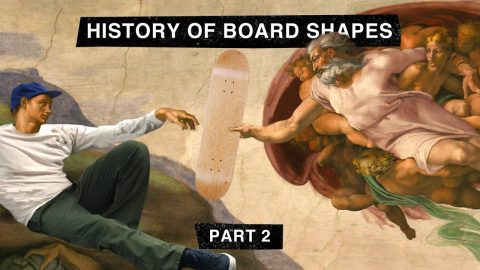"Part 2: TransWorld SKATEboarding's ""The History of Board Shapes"" 