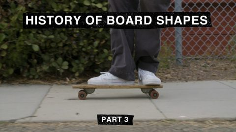 "Part 3: TransWorld SKATEboarding's ""The History of Board Shapes"" 