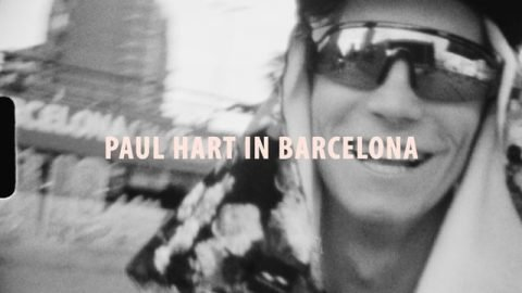 Paul Hart in Barcelona