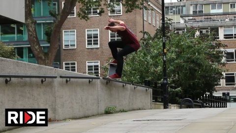 Paul Regan - Welcome To Hull Skateboarding - RIDE Channel