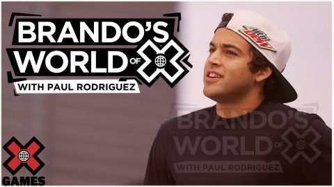 PAUL RODRIGUEZ: Brando's World of X | X Games | X Games
