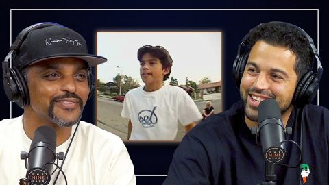 Paul Rodriguez Watches His First Sponsor Me Tape | Nine Club Highlights