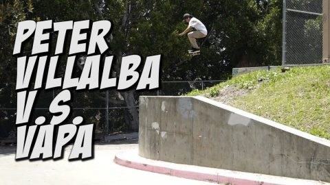 PETER VILLALBA VAPA GAP - DO THE DEW SKATE CHALLENGE !!! - Nka Vids Skateboarding