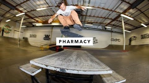 Pharmacy Boardshop Team in the TWS Park | TransWorld SKATEboarding