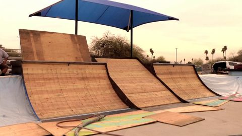 PHXAM 2019 Park Check with Josh Hawkins | Cowtown Skateboards