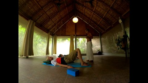 Pilates at the Sanctuary Thailand with Doran! | Madars Apse