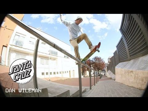 Pixels: Dan Wileman for UK Santa Cruz Skateboards - Pixels
