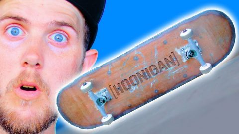 PLASMA CUT STEEL HOONIGAN SKATEBOARD | YOU MAKE IT WE SKATE IT EP. 259 | Braille Skateboarding