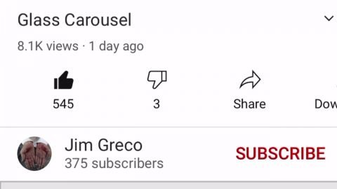 Please Subscribe to Jim Greco and view his new masterpiece. | Joey Sinko