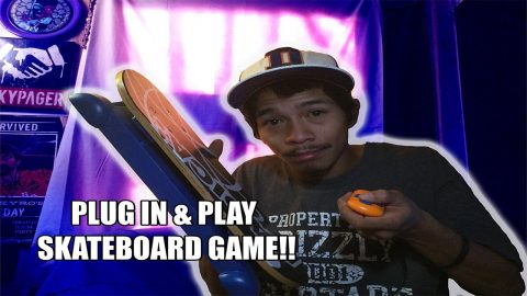 PLUG IN & PLAY SKATEBOARD GAME!! - Vinh Banh