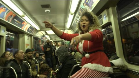 Pony - Genuwine (Cover) - A Chicago Transit Holiday Experience | Max Williams